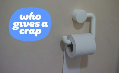 """Who Gives A Crap"" Paper Products"